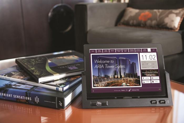 Aria In Room Tablet | Suites at ARIA Resort & Casino Las Vegas