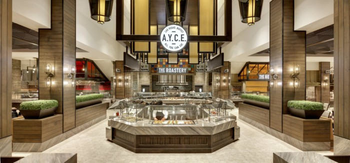 AYCE Buffet Entrance | Suites at The Palms Casino Resort