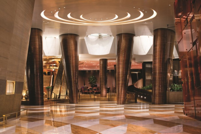 Baccarat Hallway | Suites at ARIA Resort & Casino Las Vegas