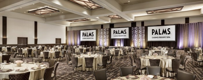 Ballroom Rounds | Suites at The Palms Casino Resort