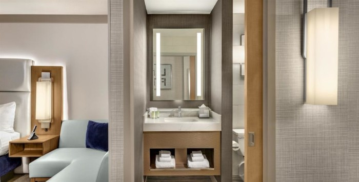 Salle de bain | Suites at Stratosphere Hotel, Casino & Tower, BW Premier Collection