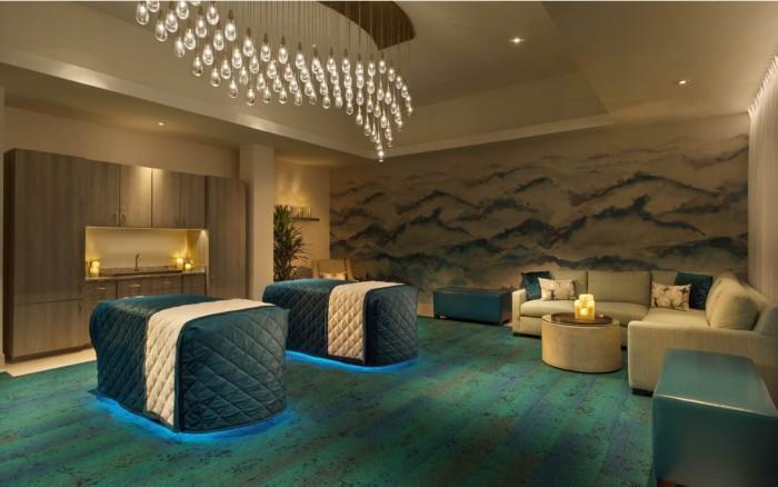 Bellagio Spa Suite Massage Chairs | Suites at Bellagio