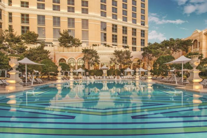 Bellagio Terrace Pool | Suites at Bellagio