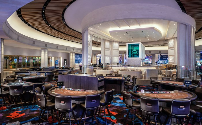 Casino Floor Tables | Suites at The Palms Casino Resort