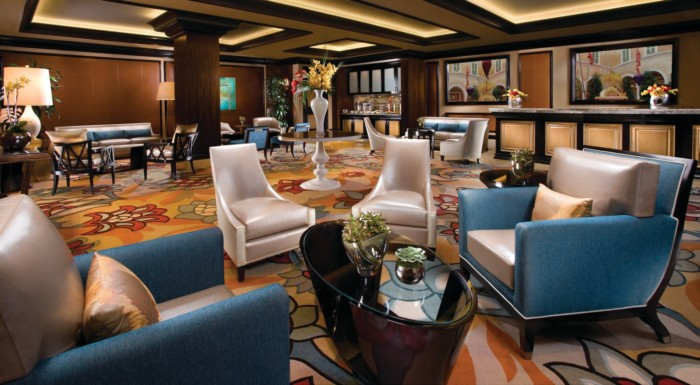 Chairman's Lounge | Suites at Bellagio