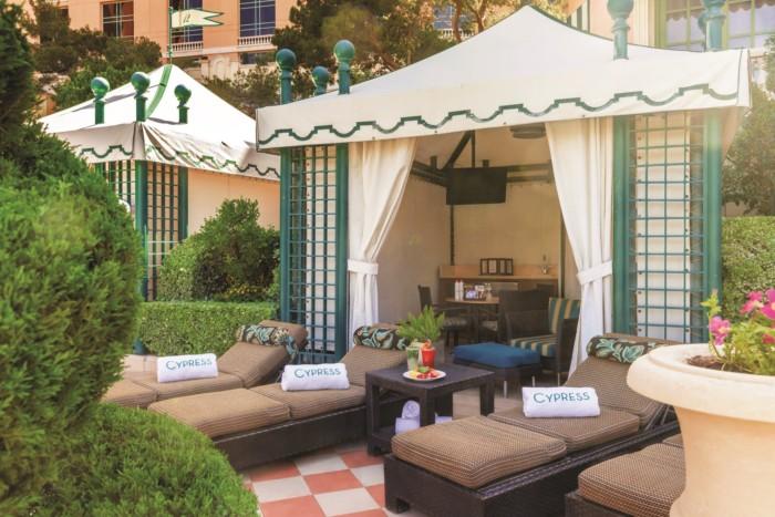 Cypress Pool Cabana | Suites at Bellagio