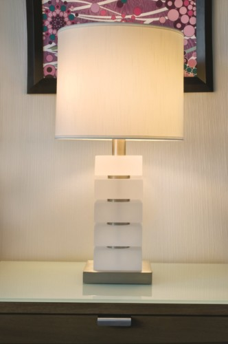 Deluxe Room Lamp | Suites at Mirage Resort & Casino