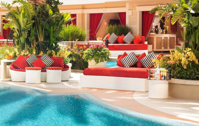 Encore Daybed | Suites at Encore at Wynn Las Vegas