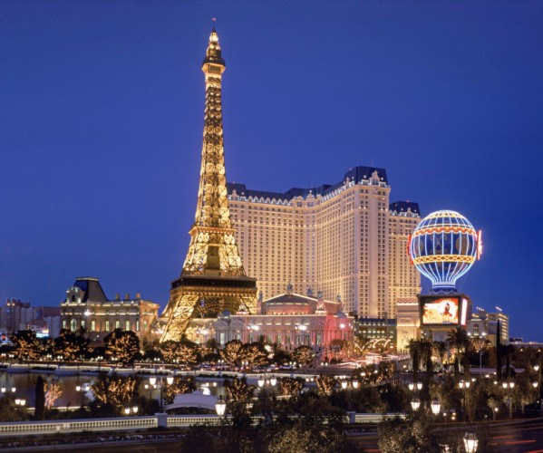 Entrance View | Suites at Paris Las Vegas