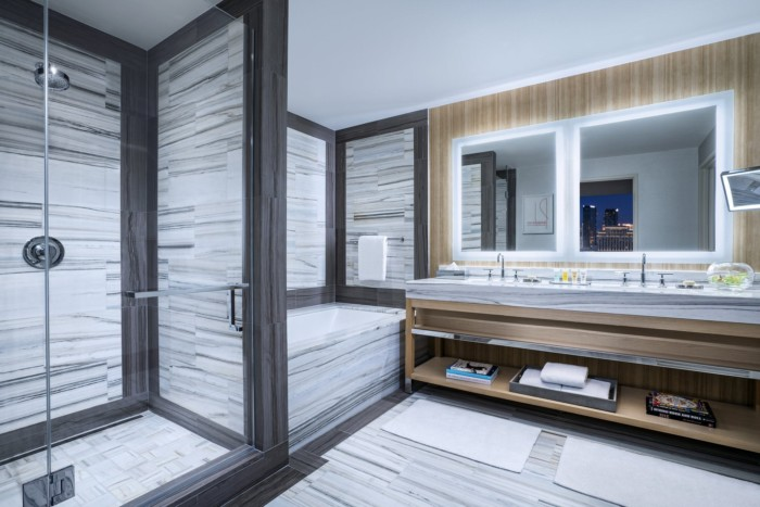 Executive Suite Bathroom | Suites at The Palms Casino Resort