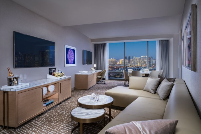 Executive Suite Living Room | Suites at The Palms Casino Resort