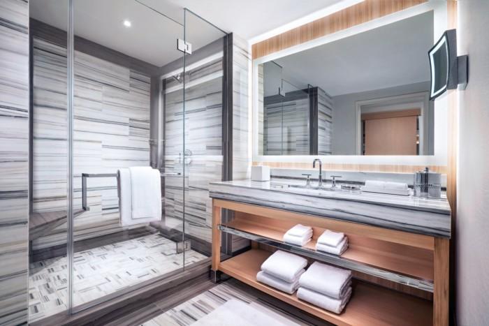 Fantasy Tower Bathroom   Suites at The Palms Casino Resort