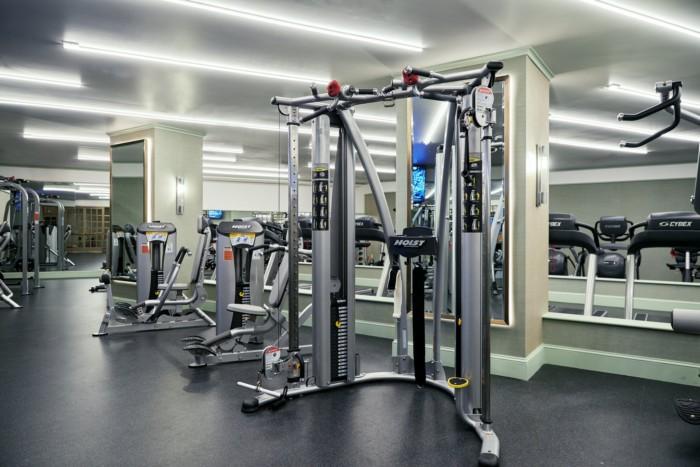 Fitness Center Machines | Suites at Park MGM Las Vegas