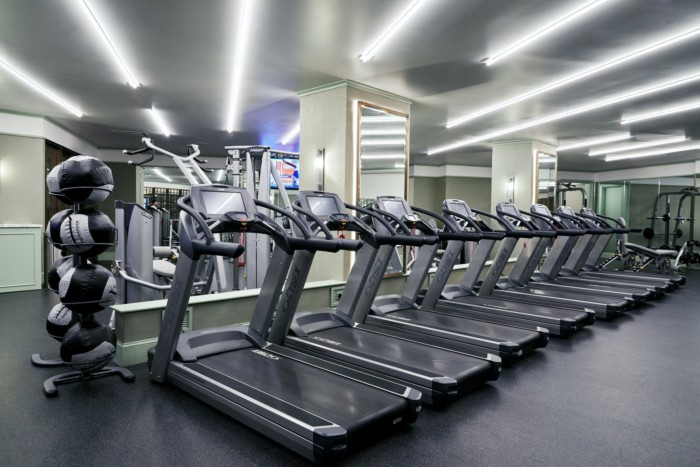 Fitness Center Treadmills | Suites at Park MGM Las Vegas