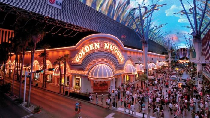 Fremont Exterior | Suites at Golden Nugget Las Vegas Hotel & Casino