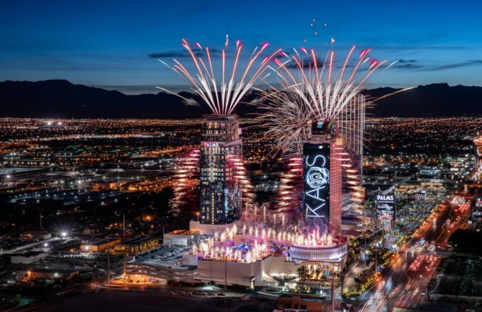Grand Opening Fireworks | Suites at The Palms Casino Resort