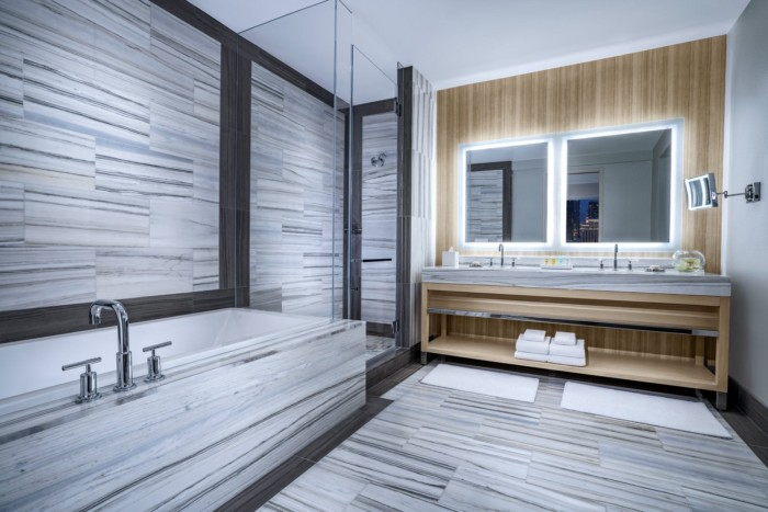 Grand Suite Bathroom | Suites at The Palms Casino Resort