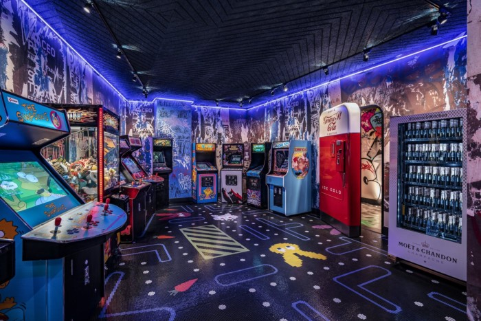 Greene St Arcade   Suites at The Palms Casino Resort