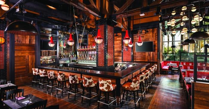 Guy Fieri SVegas Kitchen Bar Pano | Suites at The LINQ Hotel & Casino