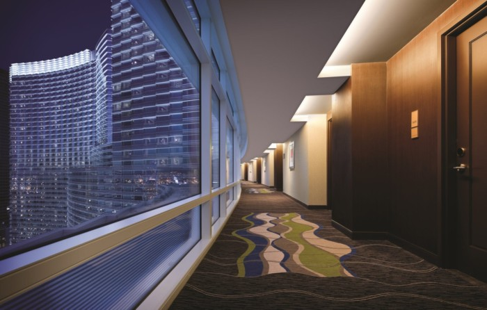 Hotel Hallway | Suites at ARIA Resort & Casino Las Vegas