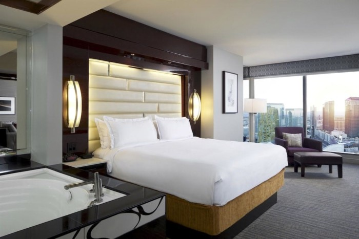 Las Vegas, NV, Elara by Hilton Grand Vacations, 3-bedroom 3-king suite with sofabed