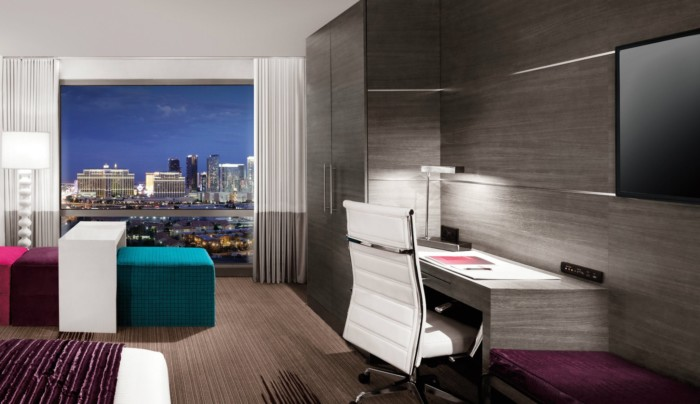 Ivory Tower Desk | Suites at The Palms Casino Resort