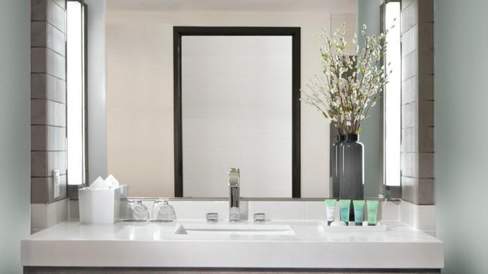 Ivory Vanity Crop | Suites at The Palms Casino Resort