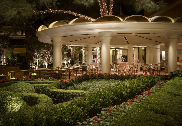 Jardin Patio Night | Suites at Encore at Wynn Las Vegas