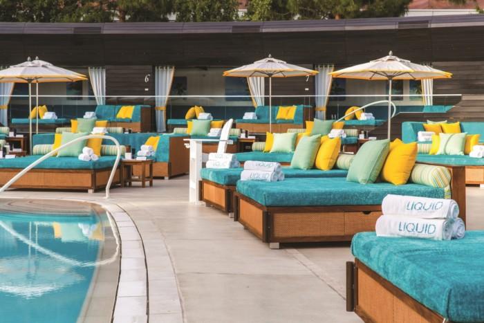 Liquid Pool Daybeds | Suites at ARIA Resort & Casino Las Vegas