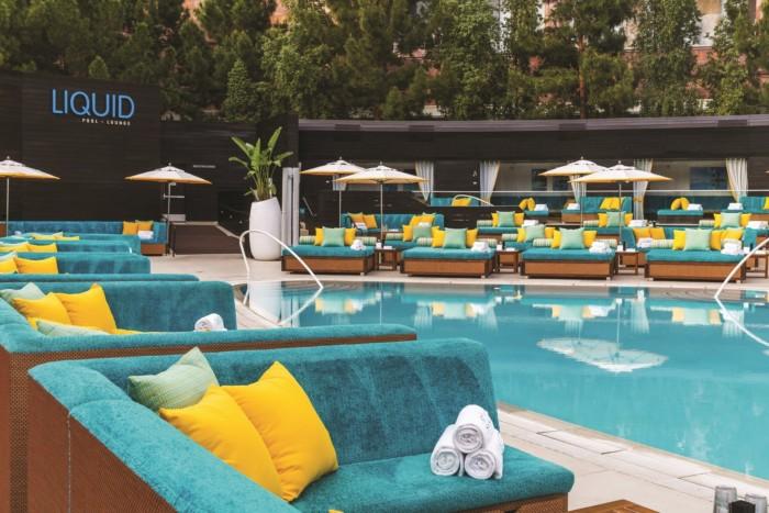 Liquid Pool | Suites at ARIA Resort & Casino Las Vegas