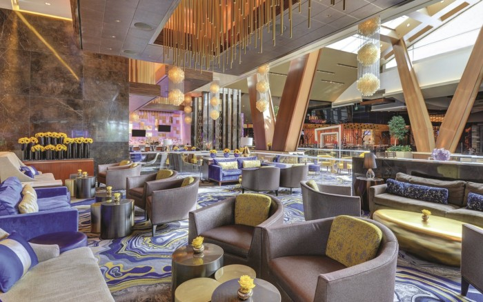 Lobby Bar Seating | Suites at ARIA Resort & Casino Las Vegas