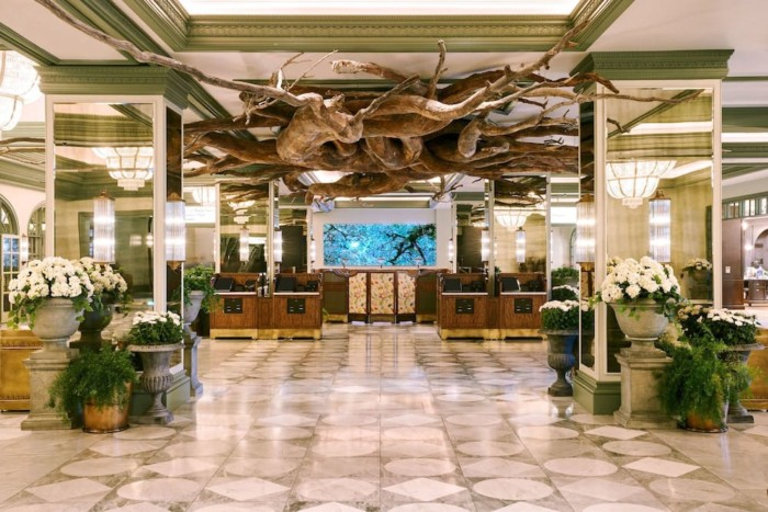 Lobby | Suites at Monte Carlo Resort and Casino