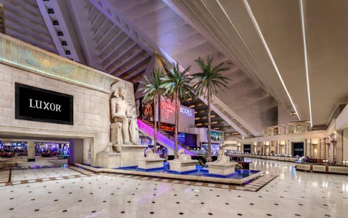Luxor Lobby | Suites at Luxor Hotel & Casino
