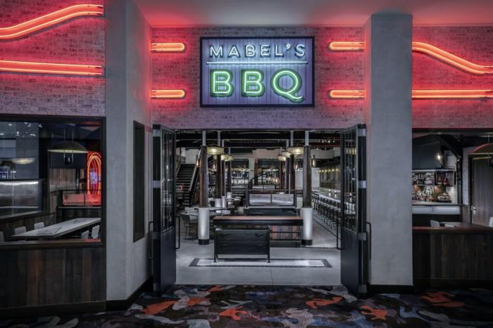 Mabel SEntrance   Suites at The Palms Casino Resort