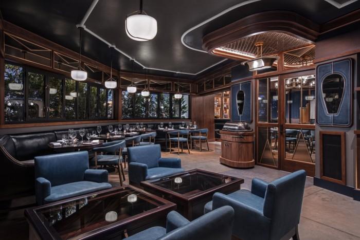 Mabels BBQSara Bar Patio V   Suites at The Palms Casino Resort