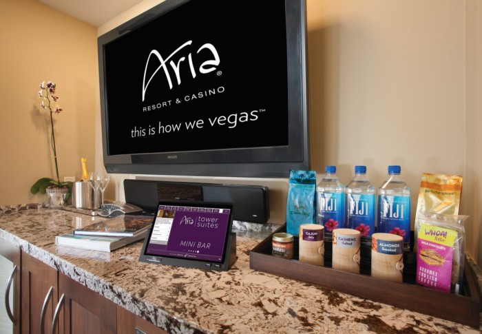 Minibar | Suites at ARIA Resort & Casino Las Vegas