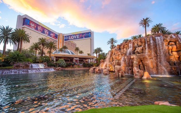 Mirage Exterior Daytime | Suites at Mirage Resort & Casino