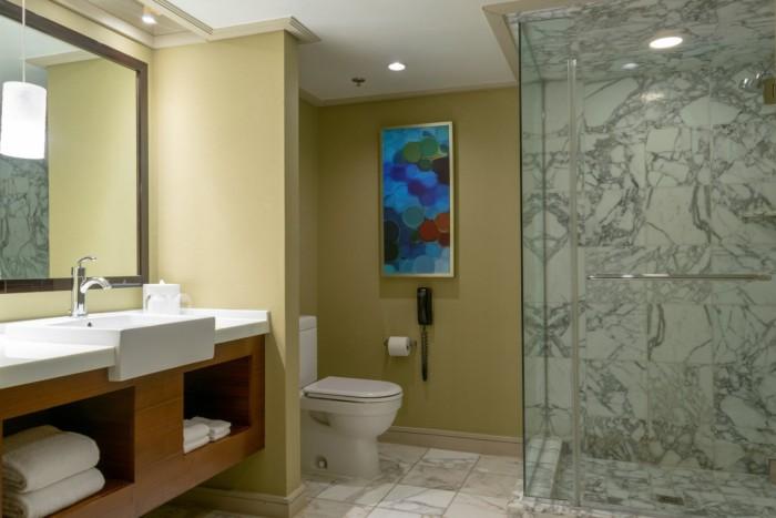 Mirage Suite Bathroom | Suites at Mirage Resort & Casino