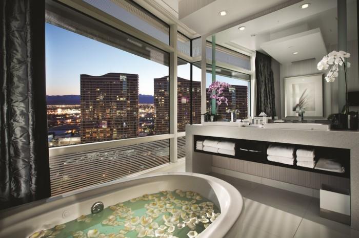 One Bedroom Penthouse Bathroom | Suites at ARIA Resort & Casino Las Vegas