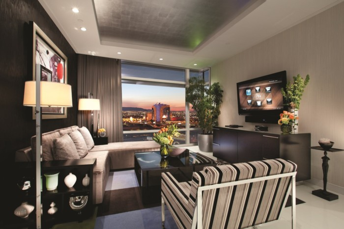 One Bedroom Penthouse Living Room | Suites at ARIA Resort & Casino Las Vegas