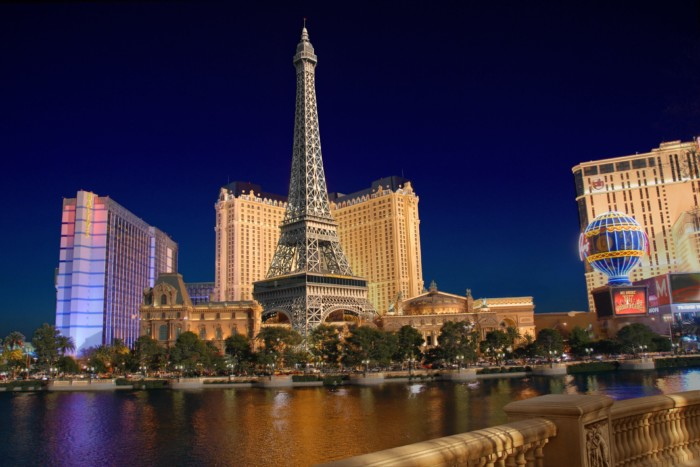 Outside | Suites at Paris Las Vegas