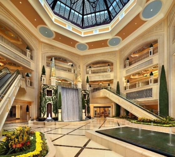 Palazzo Shoppes Corridor | Suites at The Palazzo Resort Hotel & Casino