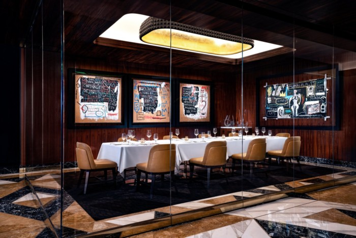 Palms Dining Basquiat V | Suites at The Palms Casino Resort