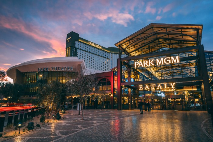 Park MGM Exterior | Suites at Park MGM Las Vegas