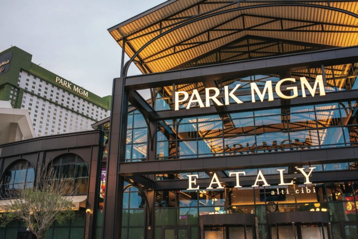 Park MGM Hero Shot + Eataly.tif | Suites at Park MGM Las Vegas