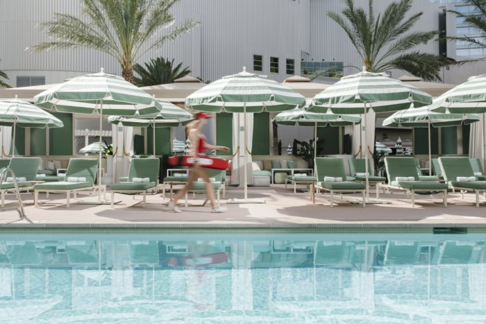 Park MGM Pool with Lifeguard | Suites at Park MGM Las Vegas