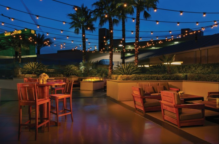 Patio | Suites at The Signature at MGM Grand
