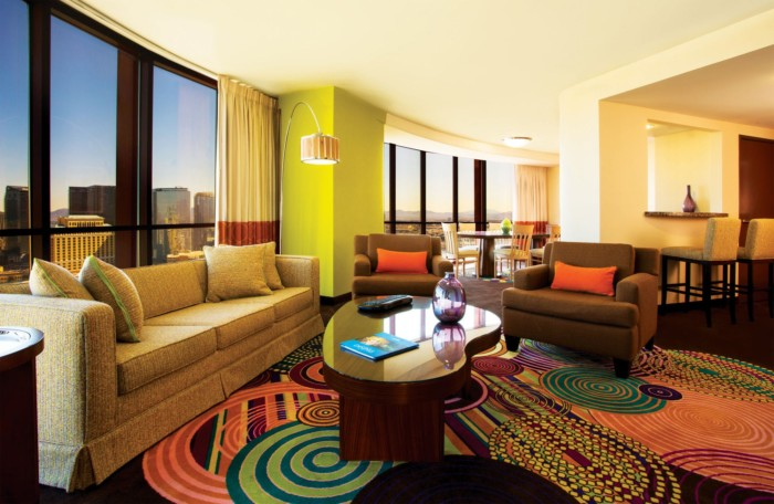 Picture of Masquerade Suite | 1 King | Strip View