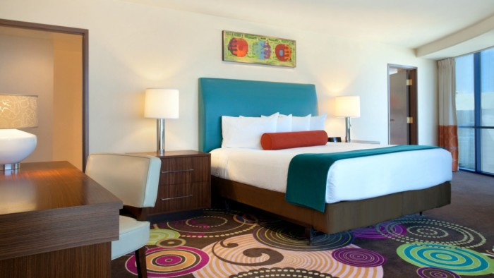 Picture of Masquerade Suite | Strip View | 1 King + 1 King