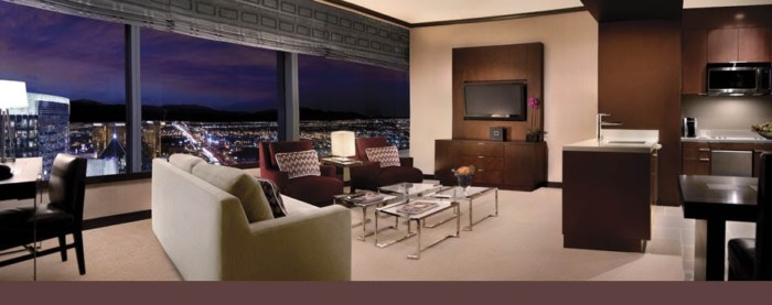 Picture of Sky Suites One Bedroom Penthouse – Strip View